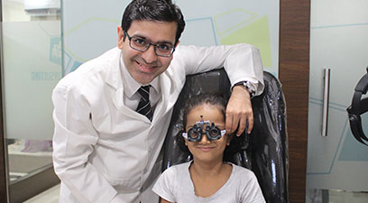 Pediatric Eye Care Clinic in Ghatkopar